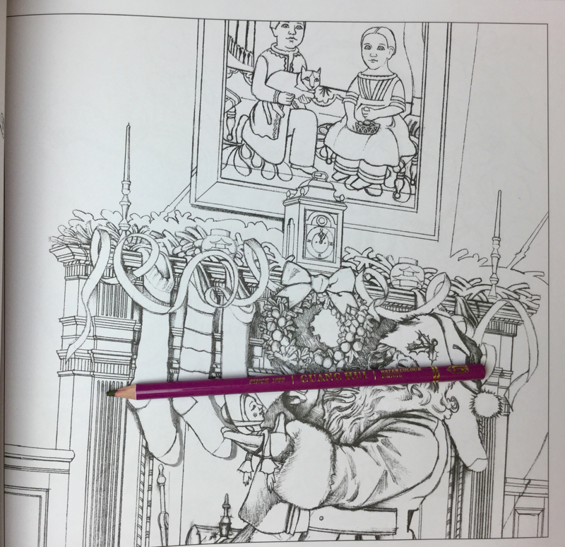 The Night Before Christmas Coloring Book Review   Coloring Queen