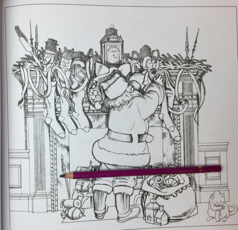 The Night Before Christmas Coloring Book Review | Coloring Queen