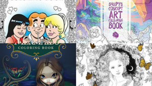 Coloring Books – New Releases – December – 2017