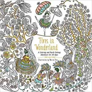 Elves in Wonderland Coloring Book Review
