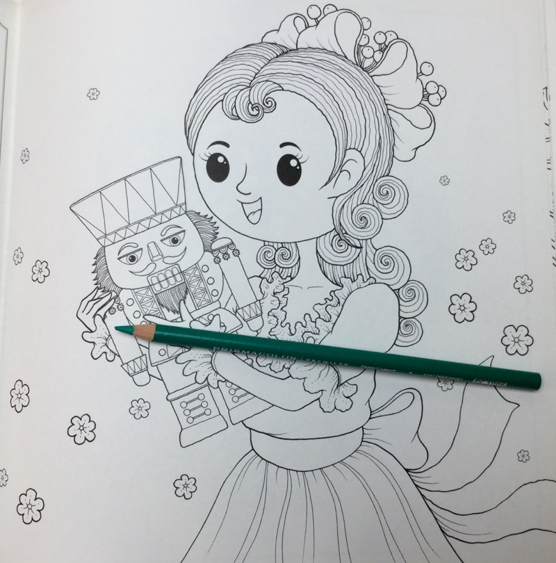 christmas nutcracker coloring book review 4335 - Christmas Nutcracker  Coloring Book Review