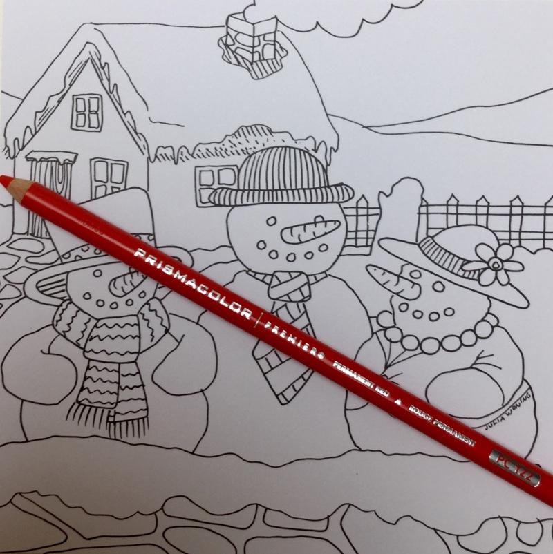 winter kleurkaarten julia woning 4340 - Winter Kleurkaarten Coloring Cards Review