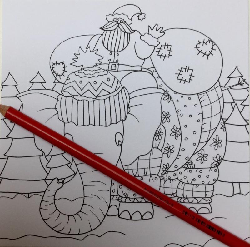 winter kleurkaarten julia woning 4341 - Winter Kleurkaarten Coloring Cards Review