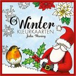 winterkleurkaarten 150x150 - Het enige echte Dikke Dames kleurboek om te versturen Postcards Review