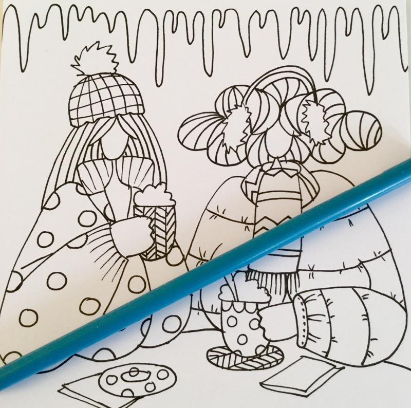 dikke dames coloring cards 4346 - Dikke Dames de einge echte Coloring Cards Review