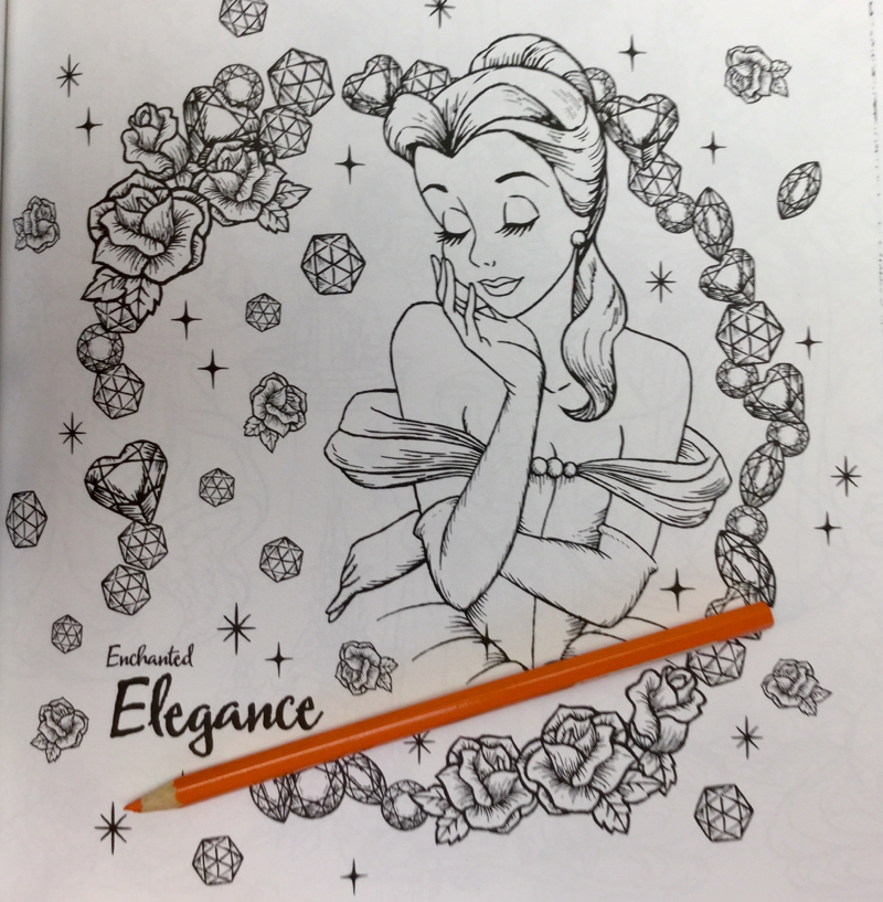 Disney Girls Coloring Book Premium Review | Coloring Queen