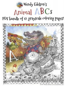 Animal ABC's Coloring Book Review