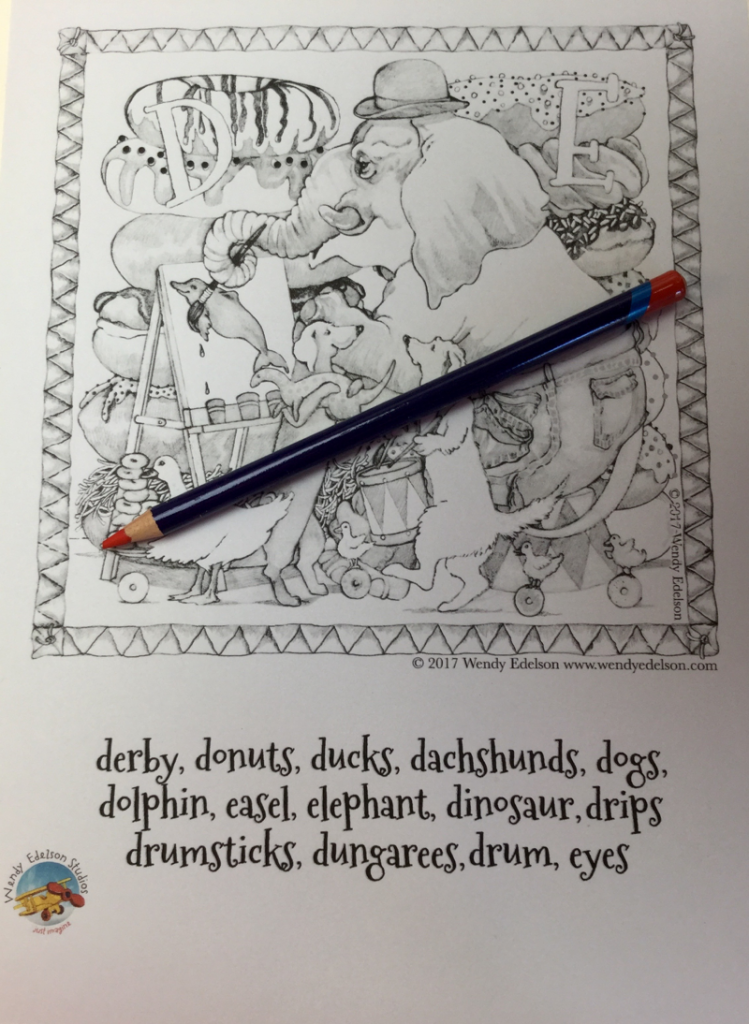 animal abcs wendy edelson 4455 749x1024 - Animal ABC's Coloring Book Review