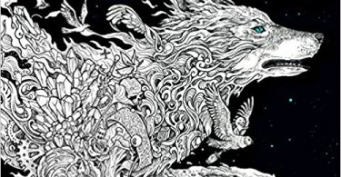 Fantomorphia coloring book kerby rosanes 375x195 - Coloring Books - New Releases - January - 2018