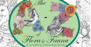 atozoffloraandfauna 375x195 - Gnomes in the Neighborhood: An Artist's Coloring Book