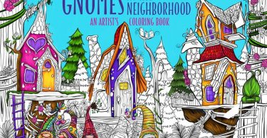 gnomes in the neighbourhood coloring book denyse klette 375x195 - Vilin San Coloring Book Review