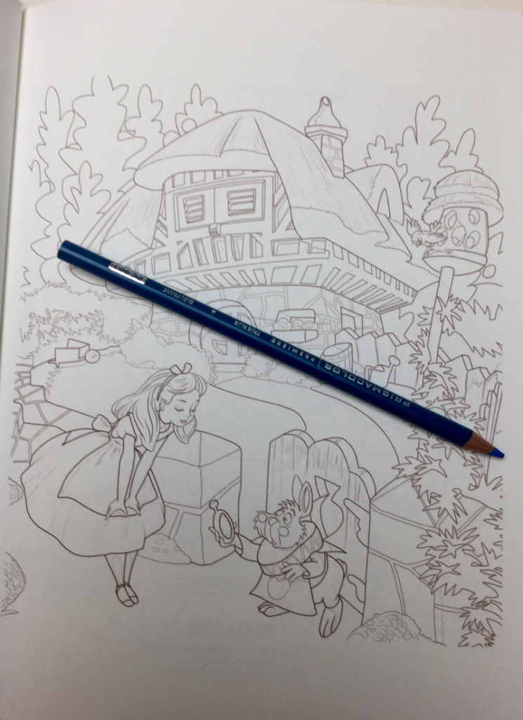 alice in wonderland japanese coloring book 4534 745x1024 - Alice in Wonderland Kawade Shobo Coloring Book Review