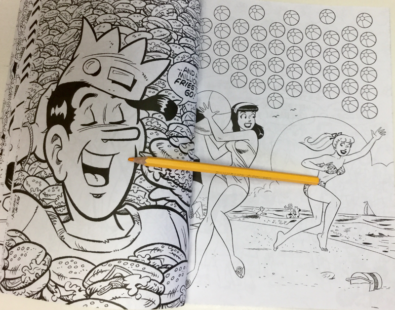 archies coloring book 4567 - Archies Coloring Book Review