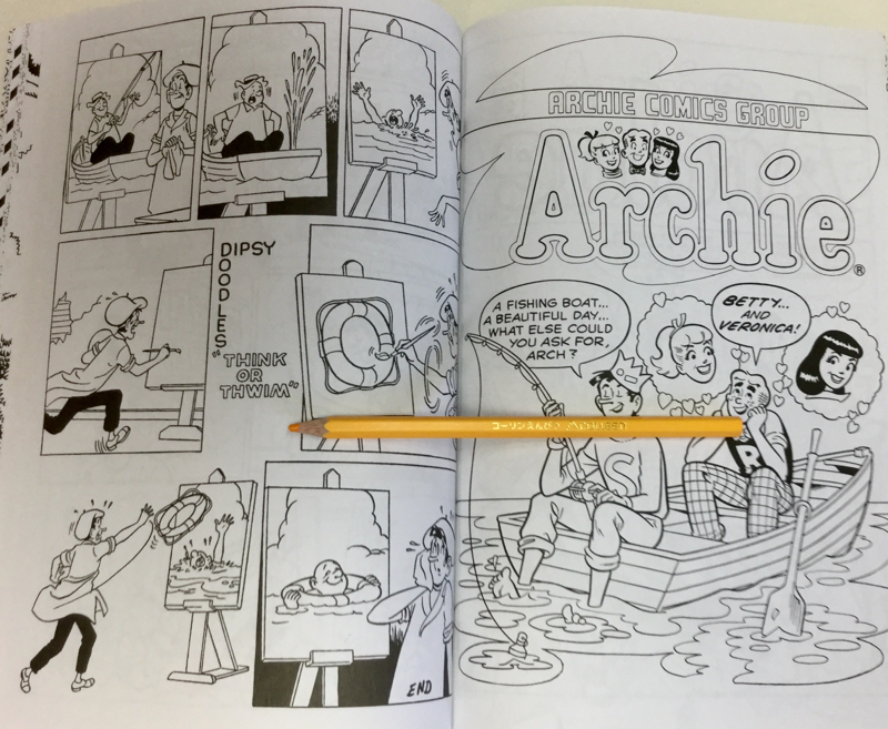 Archies Coloring Book Review