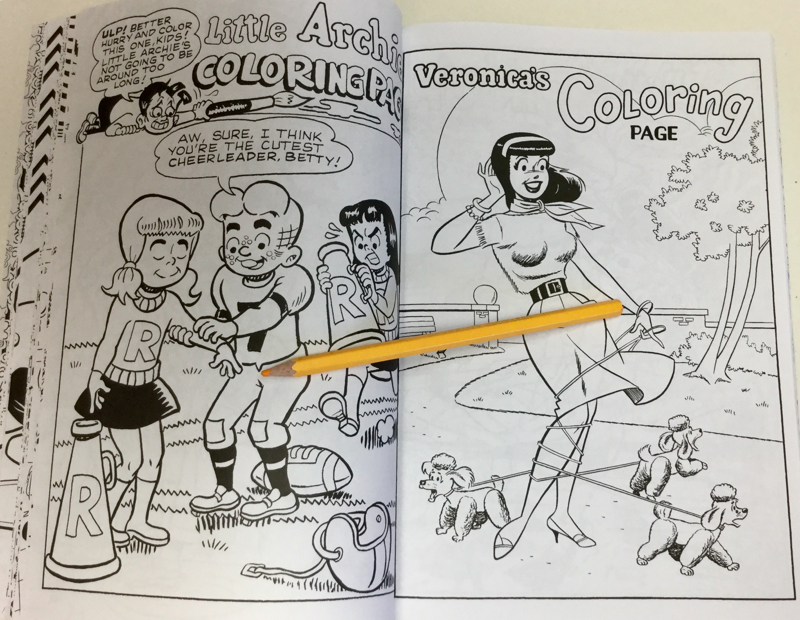 Archies Coloring Book Review   Coloring Queen