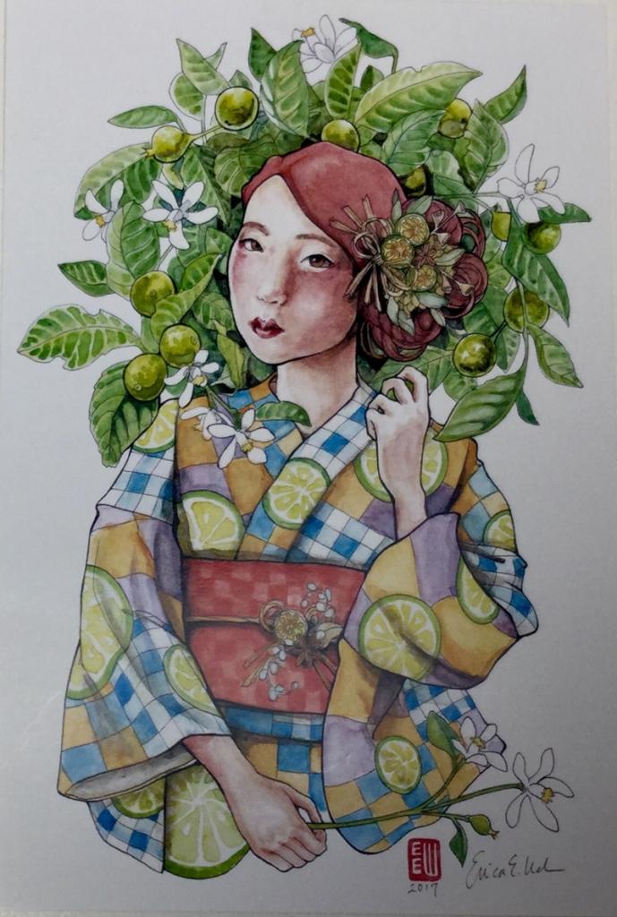 erica ward illustration coloring book  4587 689x1024 - Erica Ward Illustrations Coloring Book & Postcards Review