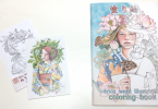 ericaward 145x100 - Erica Ward Illustrations Coloring Book & Postcards Review