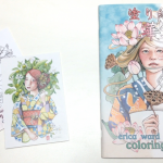Erica Ward Illustrations Coloring Book & Postcards Review