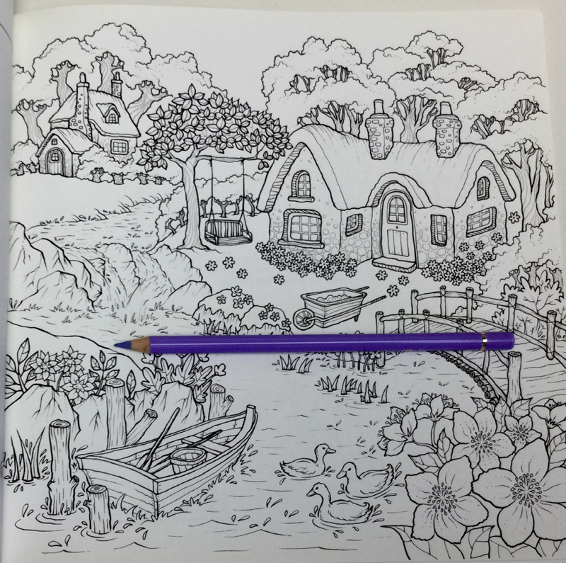 secretlyandhappilycoloringbook 4598 - Secretly and Happily Coloring Book Review