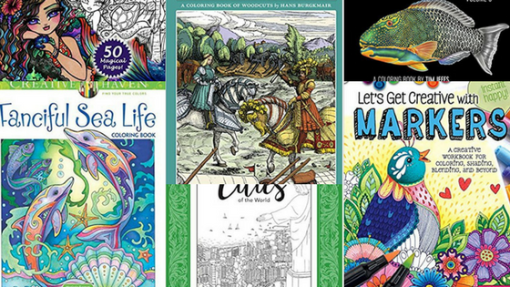 February new coloring book releases - Coloring Books - New Releases - February- 2018
