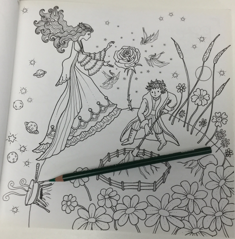 Goddesses of flora coloring book 4613 - Goddesses of Flora Coloring Book Review