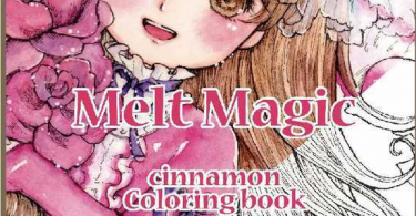 cinnamon melt magic coloring book 375x195 - Melt Magic Cinnamon  Coloring Book Review