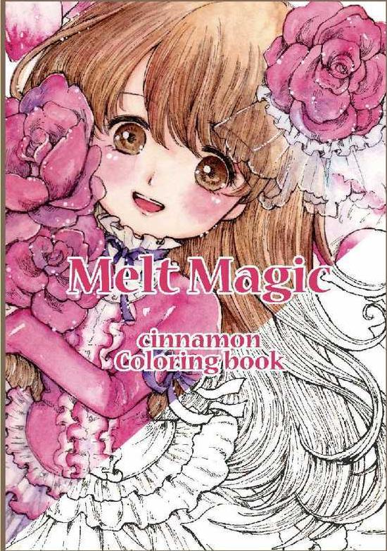 Melt Magic Cinnamon Coloring Book Review | Coloring Queen