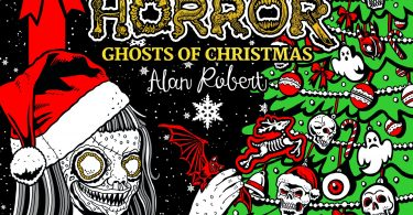 beauty of horror Ghosts of Christmas 375x195 - Melt Magic Cinnamon  Coloring Book Review