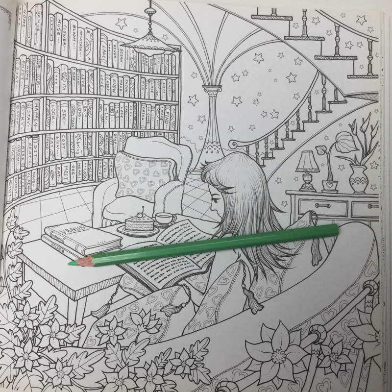 loving lifestyle of venus 4658 - Lifestyle of Lovely Venus Coloring Book Review
