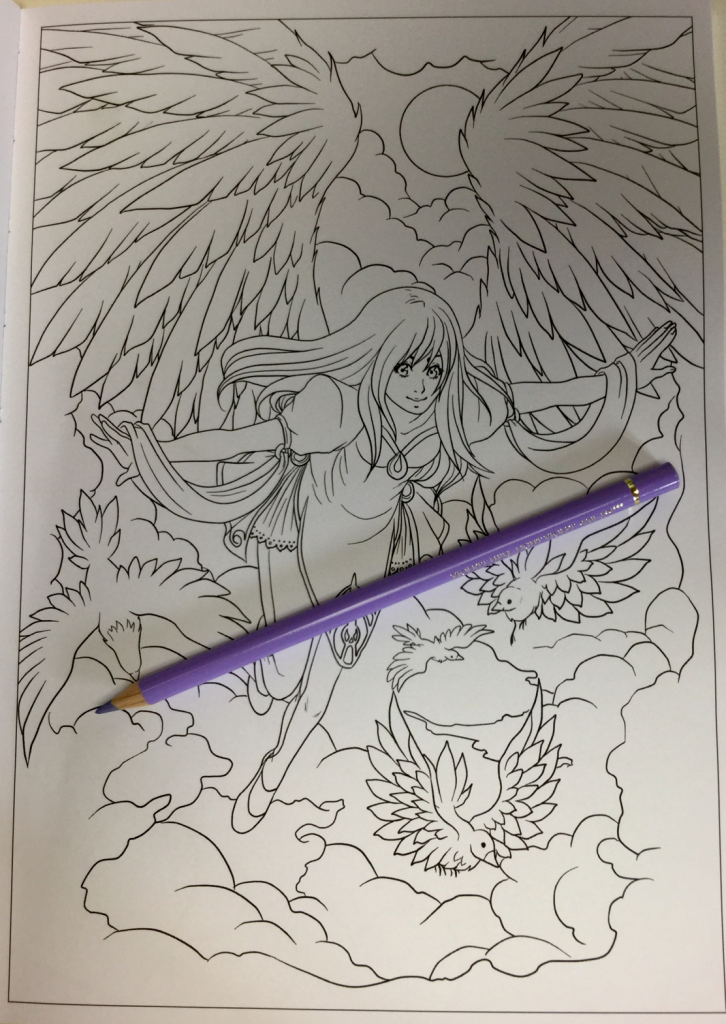 wings and fins coloring book 4718 726x1024 - Wings and Fins Coloring Book Review