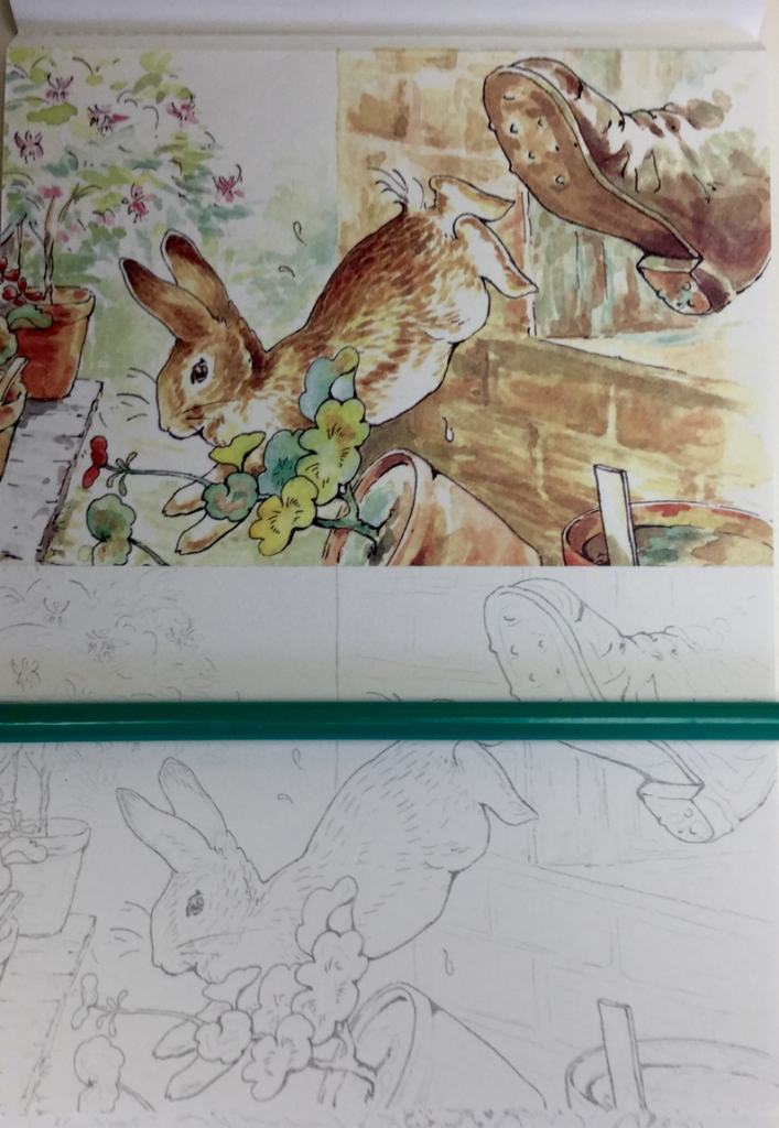 Peter Rabbit Coloring Postcards Review