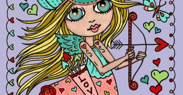 IMG 7403 375x195 - Little Sweethearts Coloring Book Review
