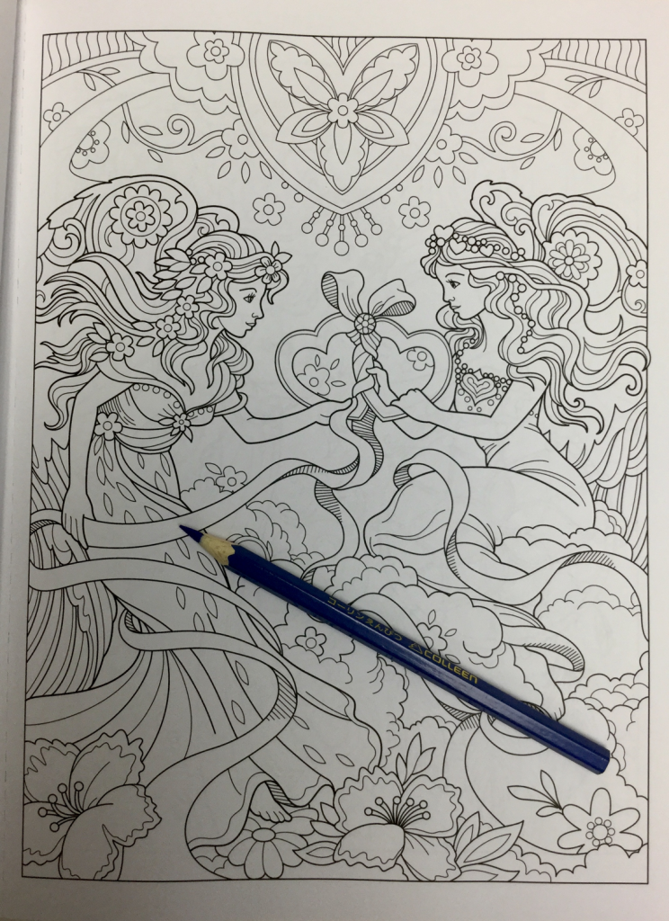 beautiful angels coloring book review 4757 744x1024 - Beautiful Angels Coloring Book Review
