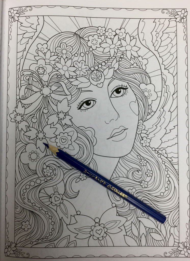 Beautiful Angels Coloring Book Review | Coloring Queen