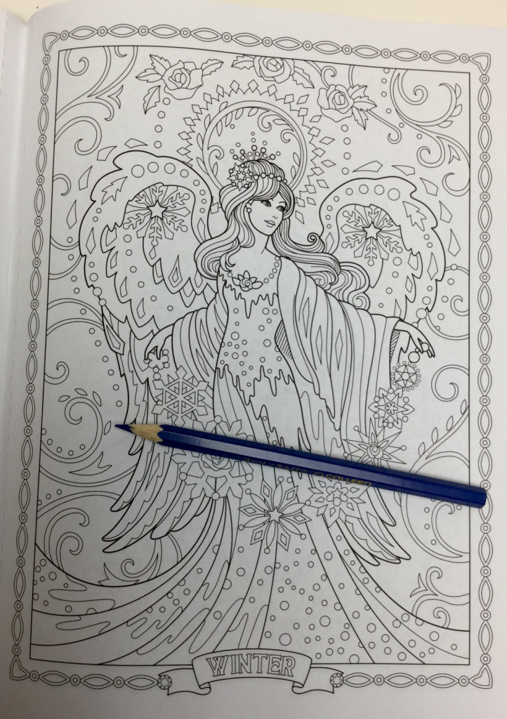 beautiful angels coloring book review 4759 722x1024 - Beautiful Angels Coloring Book Review