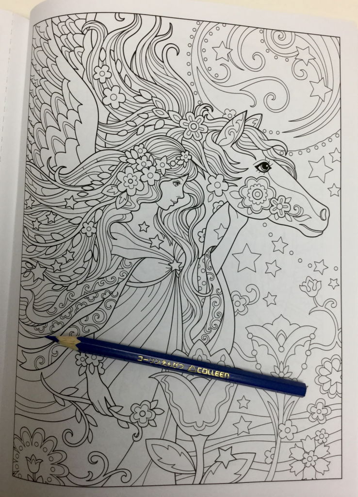 beautiful angels coloring book review 4760 738x1024 - Beautiful Angels Coloring Book Review