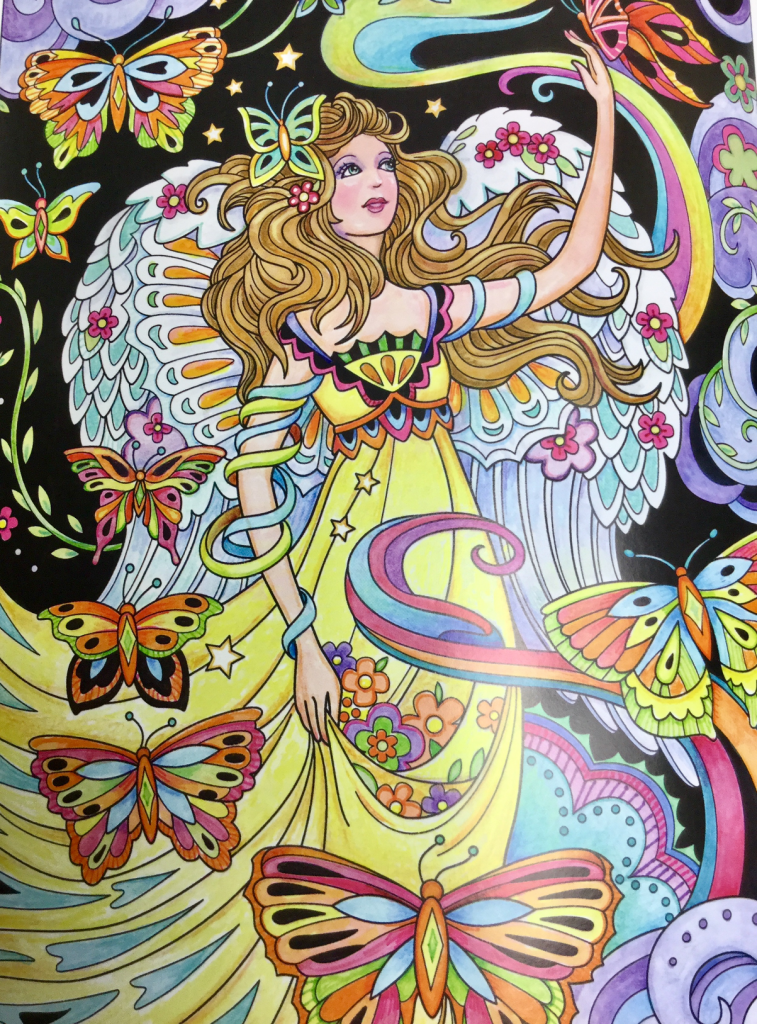 beautiful angels coloring book review 4761 757x1024 - Beautiful Angels Coloring Book Review
