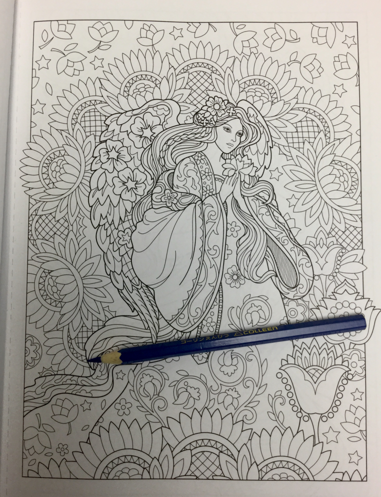 beautiful angels coloring book review4756 786x1024 - Beautiful Angels Coloring Book Review