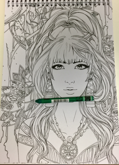 sakuems 4769 - Sakuems Fantasy Coloring Book Review