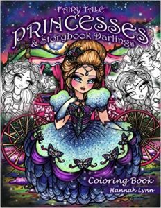 FairyTale Princesses and Storybook Darlings Coloring Book  Review