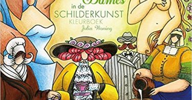 dikkedamesindeschilderkunst 375x195 - Snow White  Kawade Shobo Coloring Book Review