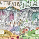 Magical Forest & Ballerina Theatre 3d Colourscapes  Coloring Book Review