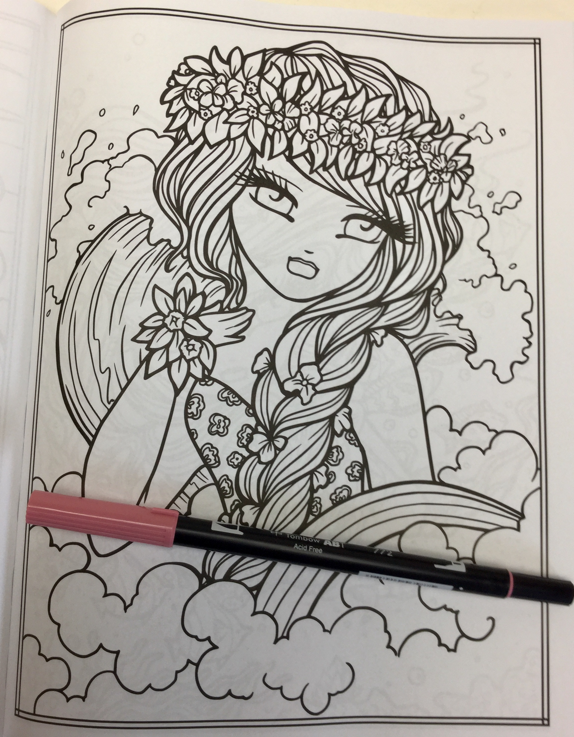 Maui Mermaids & Island Whimsy Girls Coloring Book Review | Coloring ...