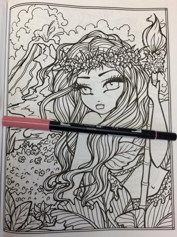 maui mermaids coloring book 4822 - Maui Mermaids & Island Whimsy Girls  Coloring Book Review