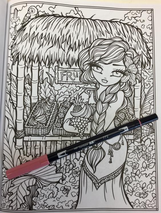 maui mermaids coloring book 4823 - Maui Mermaids & Island Whimsy Girls  Coloring Book Review