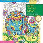 Zendoodle Coloring – Baby Animal Safari  Coloring Book Review