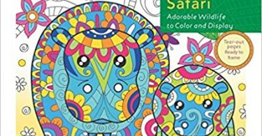 baby animal safari coloroing book 375x195 - Zendoodle Coloring - Baby Animal Safari  Coloring Book Review