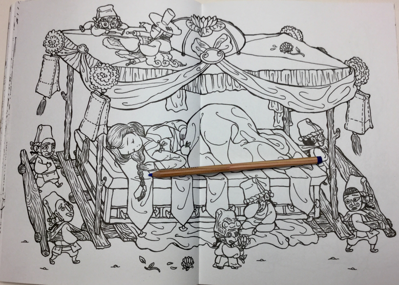 raconteurs coloring book  4897 - Raconteur's Korean Fairy Tale Coloring Book Review