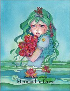 Mermaid in Dress Coloring Book Review