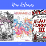 new coloring book releases July 2018